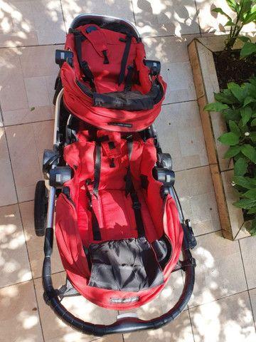 Carrinho duplo Baby Jogger - Foto 3