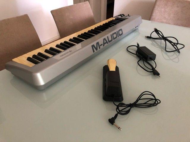 Controlador MIDI 5 oitavas