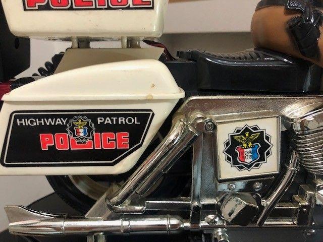 brinquedo motocicleta Patrulheiro Chips - Foto 4