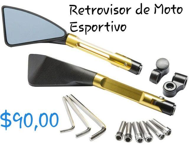 Retrovisor Moto Esportivo