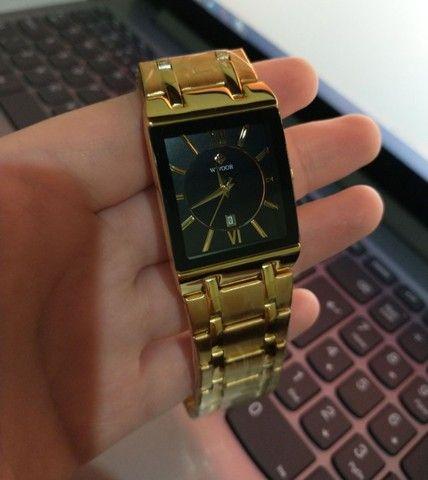 Relógio de Luxo Masculino Importado Wwoor - Aceitamos cartão - Foto 3