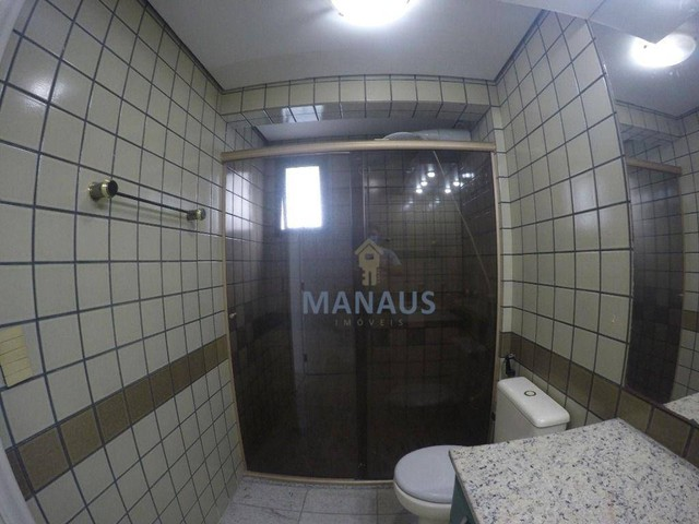 Apartamento com 4 dormitórios para alugar, 186 m² por R$ 3.900/mês - Adrianópolis - Manaus - Foto 16