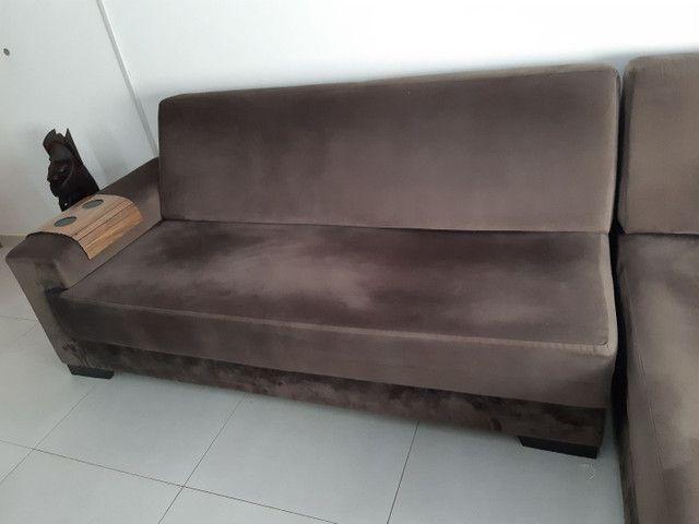 Sofá 4 lugares com chaise  - Foto 5