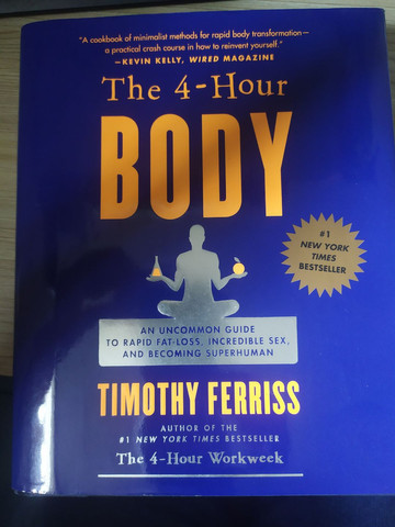 Livro The 4 - Hour BODY