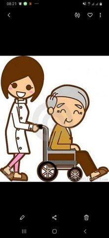 Contrata se auxiliar de cuidadora