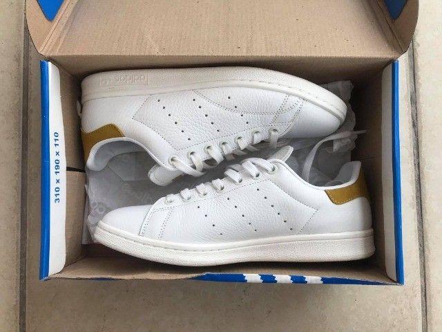 Tênis Adidas Originals Stan Smith - Tam. 38 - Foto 5