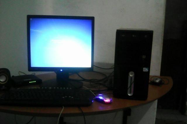 Computador ibyte completo com garantia troco