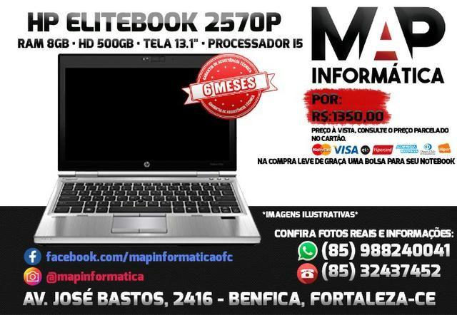 Notebook hp elitebook i5 com 6 meses de garantia