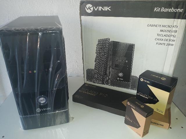 Computador Vinik Novo com Mouse, Teclado e Caixa de Som