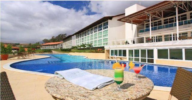 Janeiro em Flat Gravatá Resort Villa Hipica até 8 pessoas