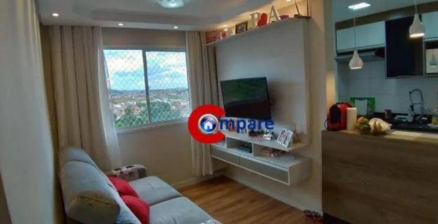 Apartamento com 2 dormitórios à venda, 44 m² por r$ 265.000 - vila rio de janeiro - guarul - Foto 12