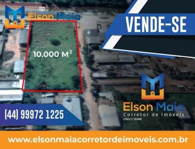 8121   terreno à venda em parque industrial, nova esperança