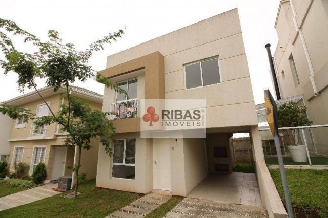 Casa com 3 dormitórios à venda, 126 m² por r$ 650.000 - barreirinha - curitiba/pr