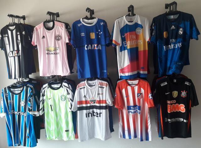 7f37b240c8 Camisas de times Nacionais e Europeus - Esportes e ginástica ...