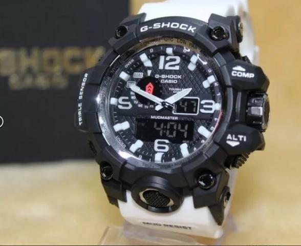 fc30b8c1292 Relógios G Shock Analógico E Digital Mudimastter A Pprova D Água ...
