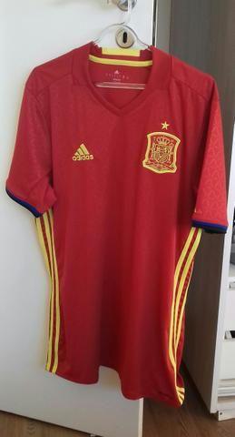Camisa Seleção Espanha - Tam. G - Roupas e calçados - Santa Efigênia ... c7930346da654