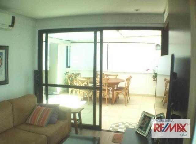Cobertura 3 dormitórios,2 suítes,churrasqueira,home theater ,rua passo da patria - Foto 4