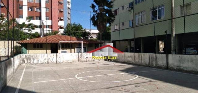 Apartamento com 3 dormitórios à venda por R$ 180.000,00 - Fátima - Fortaleza/CE - Foto 7
