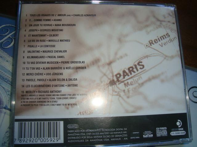Belle France, 3 cd, Mireille Mathieu, Adamo, Dalida, Richard Anthony, Aznavour, Dassin - Foto 3