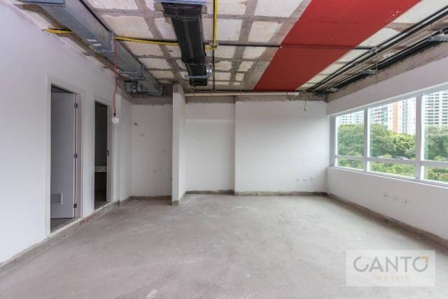 Laje/sala comercial para venda e locação no EuroBusiness, Ecoville, Curitiba - LEED Platin - Foto 10