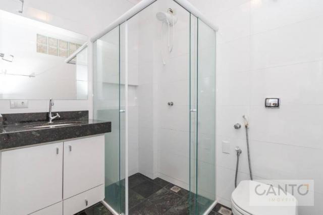 Apartamento com 3 dormitórios para alugar no Batel - condomínio com valor baixo, 96 m² por - Foto 15