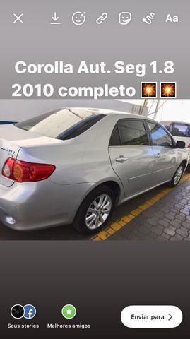 Corolla Aut Seg 1.8 2010 completíssimo