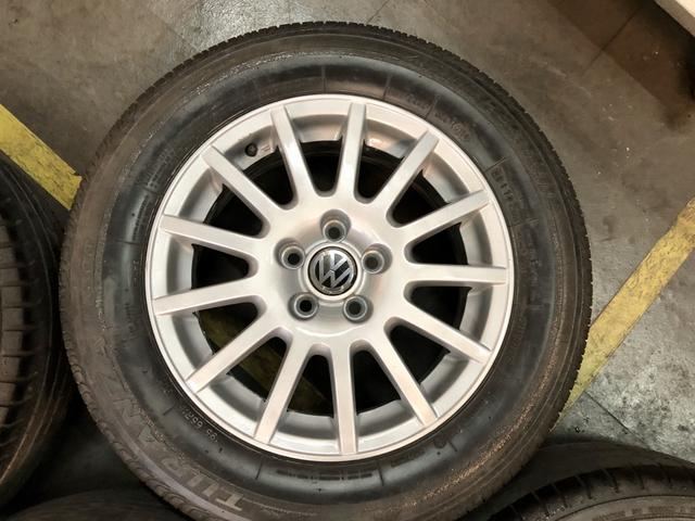 Jogo de rodas aro 15 VW 5x100 - Foto 4