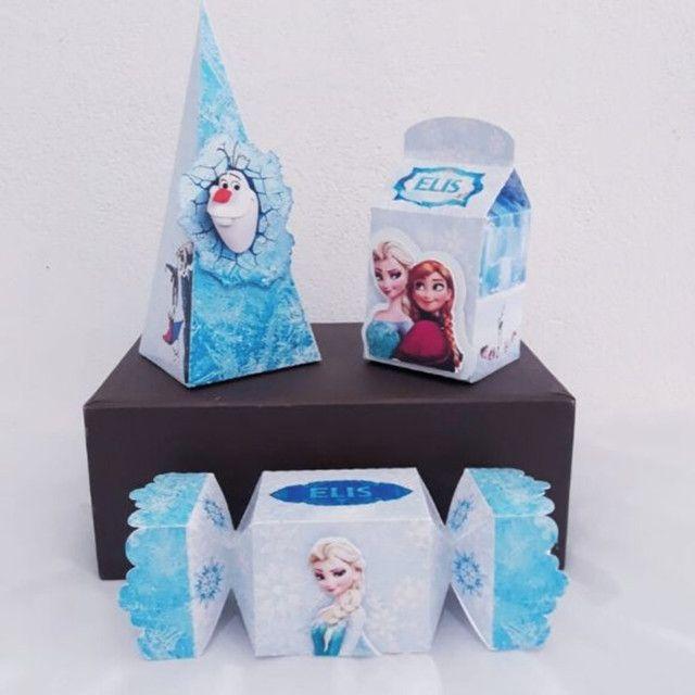 Caixinhas personalizadas a partir de 2 reais cada. Fazemos topo de bolo também! - Foto 2
