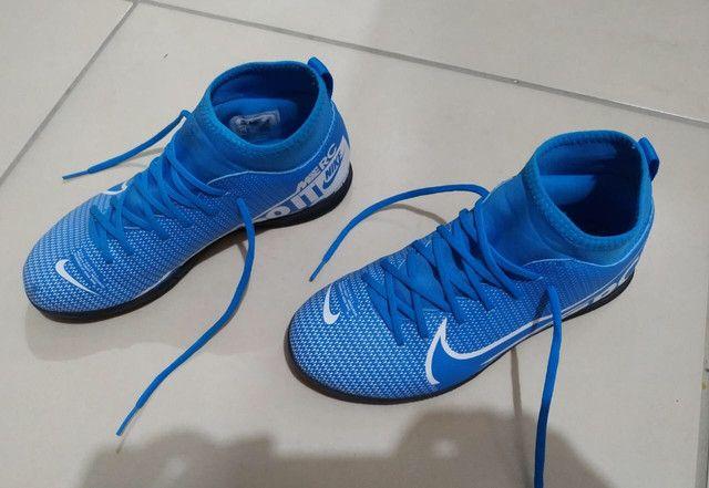 Tênis Nike futsal 36 - Foto 4