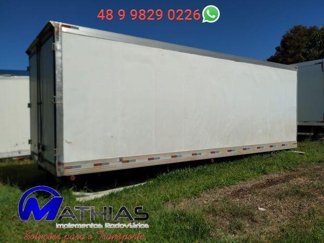 Baú frigorífico 14 paletes caminhão truck Mathias implementos - Foto 2