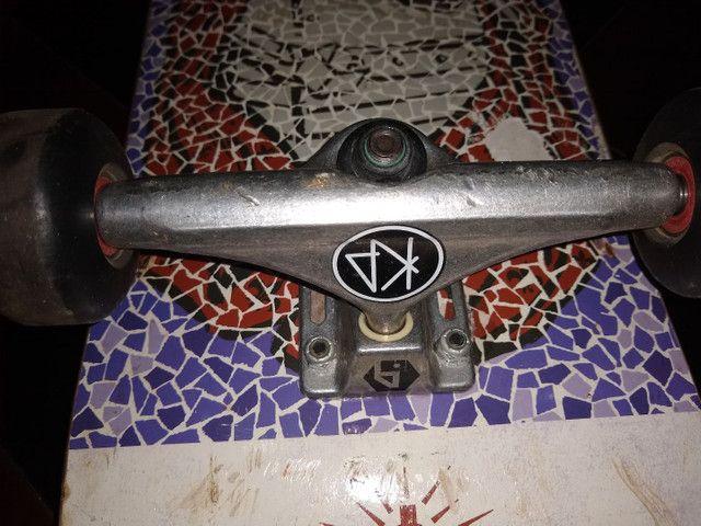 Skate profissional usado (conservado) - Foto 5