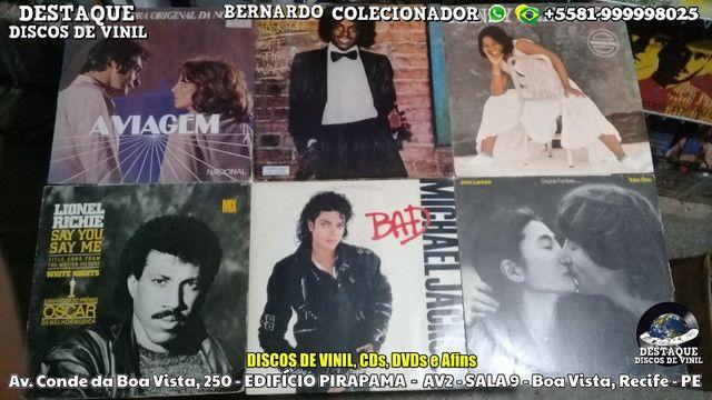 Visite-nos Sem Compromisso, Discos de Vinil, CDs e DVDs - Destaque Discos de Vinil - Foto 3