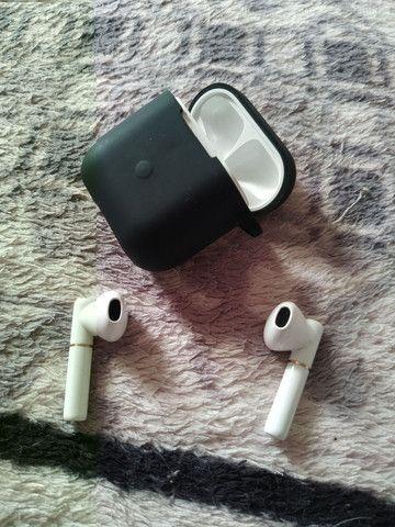 QCY T8 TWS  - Fone Bluetooth + Capa Emborrachada - Foto 4