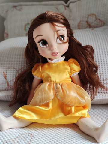 Boneca Belle Animators Original Disney Store - Foto 3