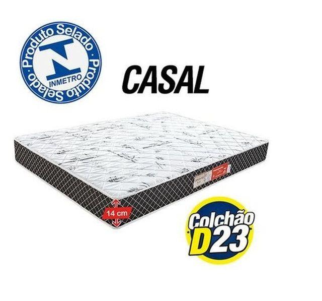 Colchão Casal modelo com espuma - pronta entrega   Temos outros produtos - Foto 2