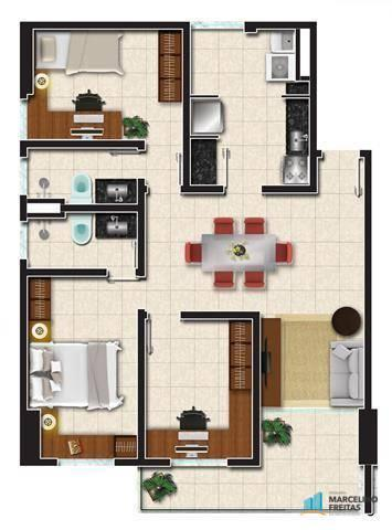 Apartamento com 2 dormitórios à venda, 53 m² por R$ 360.684,20 - Jacarecanga - Fortaleza/C - Foto 10