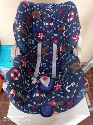 Kit bebê com carrinho, bebê conforto e tapete de atividades - Foto 2