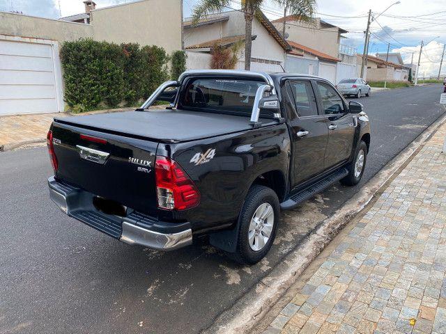 Toyota Hilux SRV 2.8 2018 único dono novíssima  - Foto 3