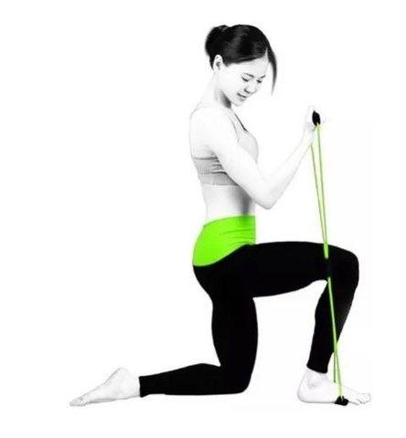 Elástico Tensão Exercícios Ombro Biceps Triceps Peito Costas_ ep21 - Foto 2