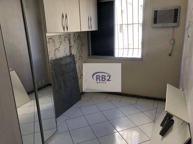 More em ótimo apartamento mobiliado de 2 quartos com excelente localização - Foto 12