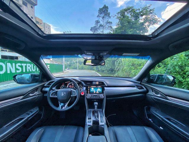 Civic Touring 1.5 turbo 19/19 vidrificado