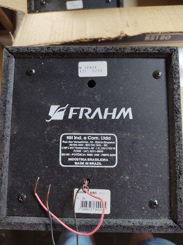"""Caixas acústicas 5"""" Full range 10W RMS Frahm - Foto 3"""