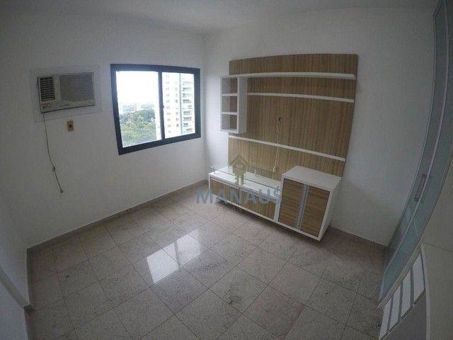 Apartamento com 4 dormitórios para alugar, 186 m² por R$ 3.900/mês - Adrianópolis - Manaus - Foto 13