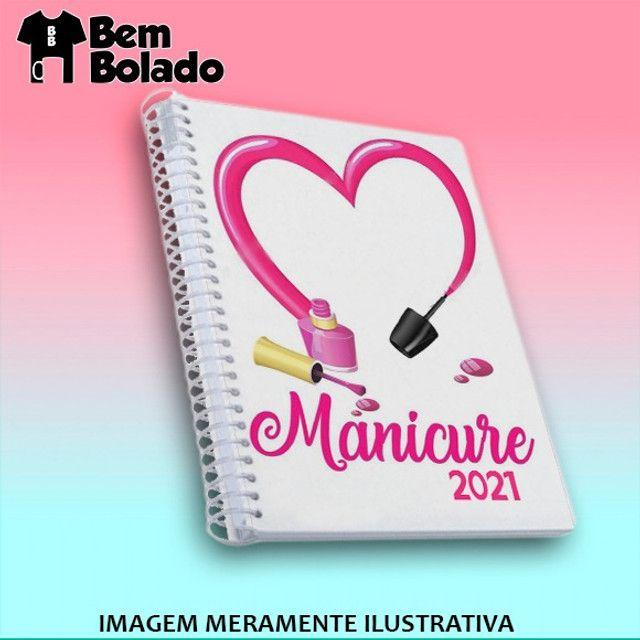 Agenda 2021 Manicure Cabeleireira Salão de Beleza - Foto 4