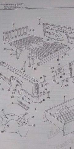 Catálogos ORIGINAIS completos Astra Ômega Silverado Grand Blazer S-10 Vectra - Foto 10