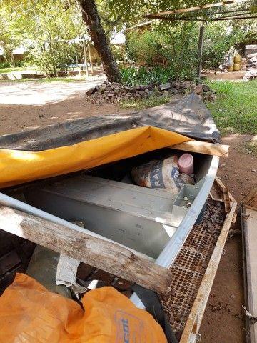 Barco Levefort com motor e carreta - Foto 4