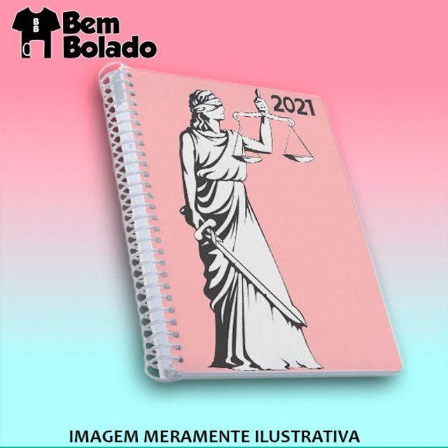 Agenda 2021 Direito Advogado Advogada - Foto 2
