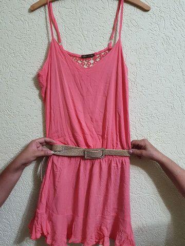Vestido todo aberto nas costas  tamanho M - Foto 2