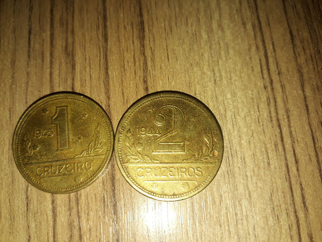 Vendo duas moedas de 1 cruzeiro e de 2 cruzeiro  - Foto 3