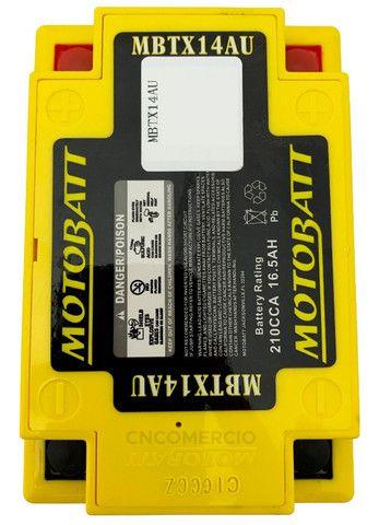 Bateria Motobatt Mbtx14au Honda Cb 750k Four 69-82 Cbx750 Cbf1000 Triumph 900 Yb14a2 - Foto 2